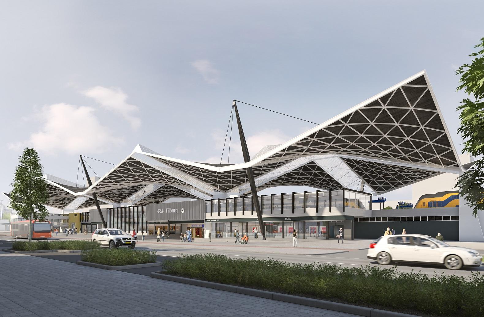 VDE renovatie station tilburg
